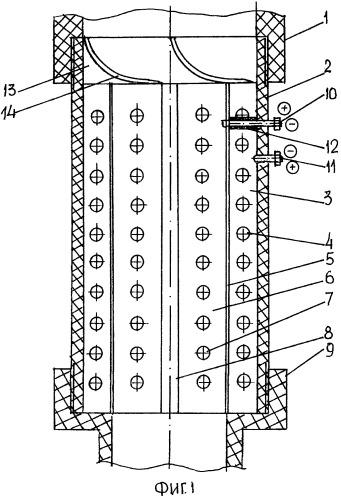 Прямоточный электроактиватор воды