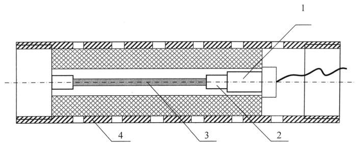 Детонационное устройство поджига для пороховых генераторов давления