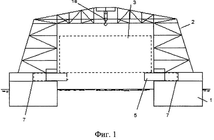 Способ производства подводно-технических работ при монтаже крупногабаритных объектов и устройство для его осуществления