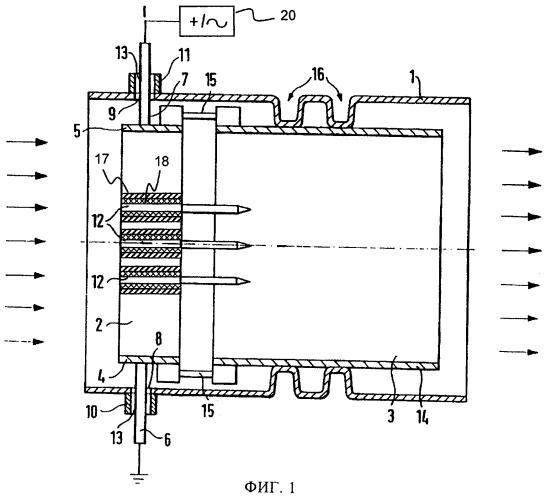 Способ эксплуатации устройства, имеющего по меньшей мере один электронагреваемый сотовый элемент