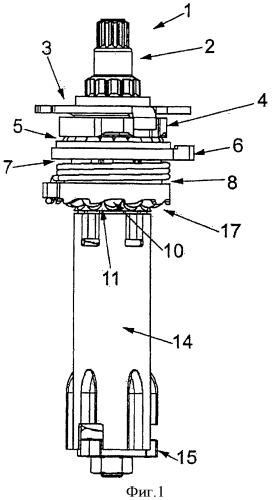 Регулировочное устройство для дискового тормоза