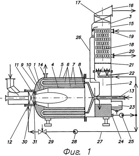 Конденсационный водогрейный котел