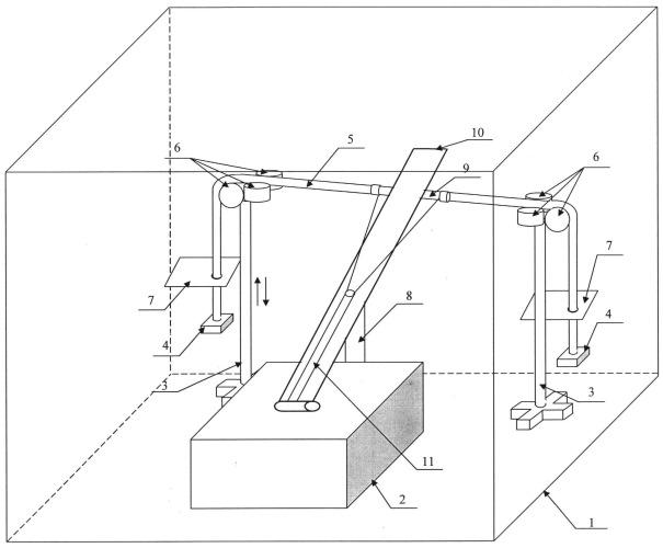 Способ испытания электрического кабеля на механическое воздействие при пониженной температуре и устройство для испытаний