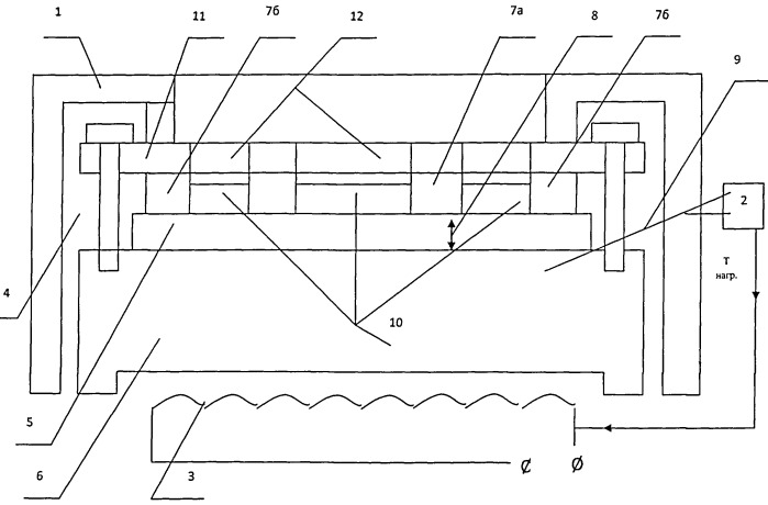 Устройство для определения коэффициента теплопроводности материала