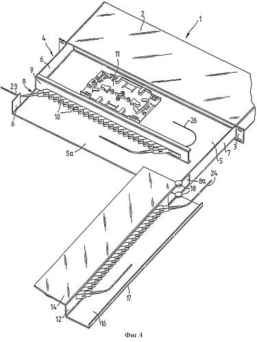 Коммутационная панель оптического распределителя