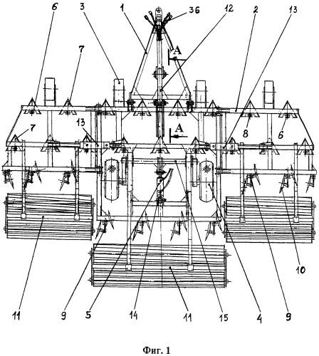 Комбинированный почвообрабатывающий агрегат