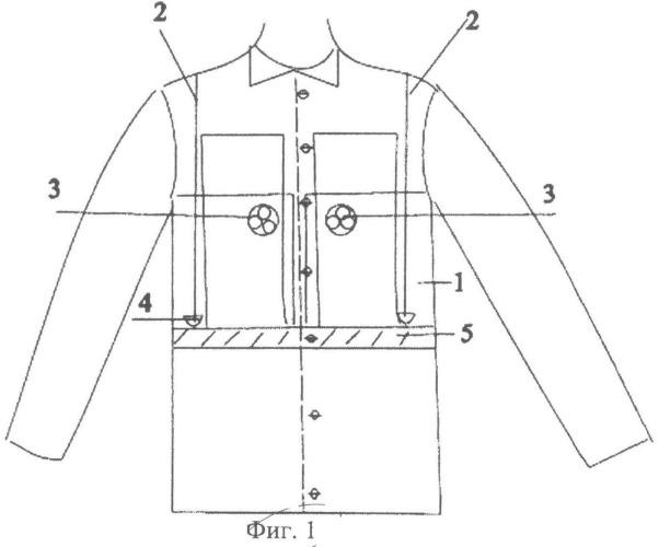 Одежда спасателей, действующих в чрезвычайных сейсмически опасных условиях