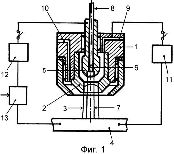 Способ плазменной сварки плавящимся электродом