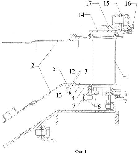 Уплотнение внутреннего стыка камеры сгорания и соплового аппарата турбины газотурбинного двигателя