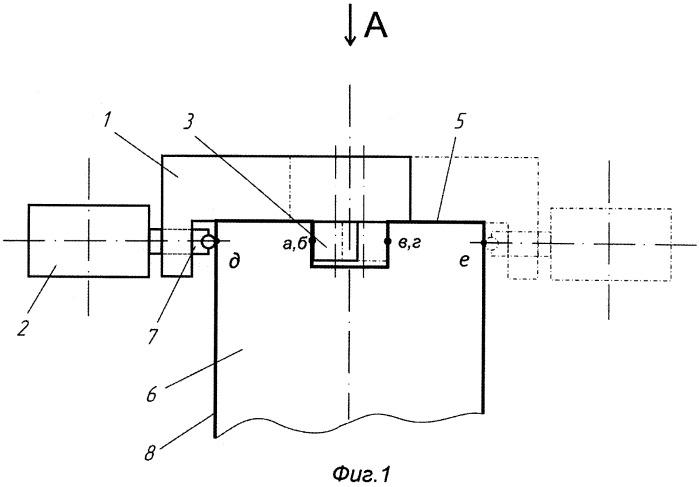 Способ измерения параметров паза на торце вала