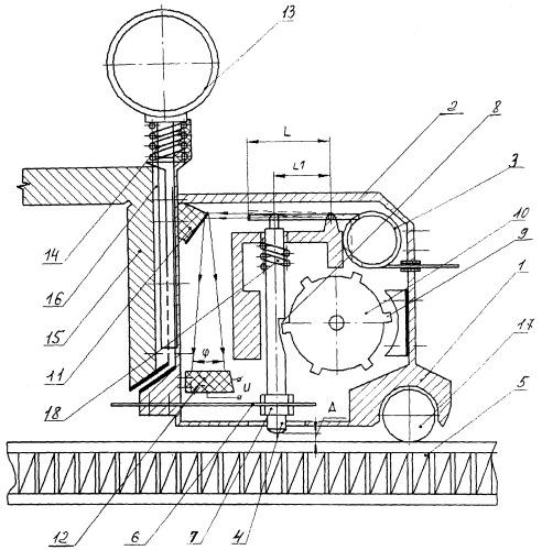 Устройство лазерного вибропреобразователя