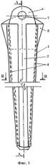 Устройство для погружения стержневых заземлителей в котлованы опор линий электропередачи