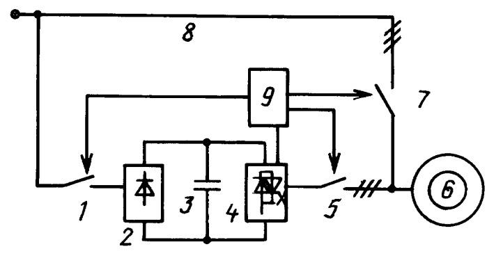 Способ управления частотно-разгоняемым электроприводом