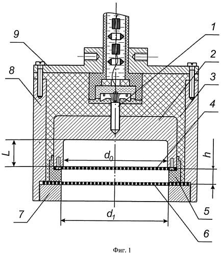 Генератор широкоаппертурного потока газоразрядной плазмы