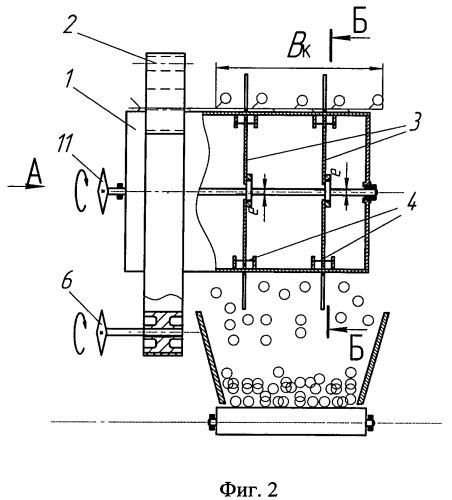 Способ отделения семенной части урожая от стеблей и устройство для его осуществления