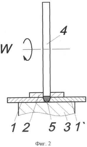 Способ фрикционной сварки вращающимся диском