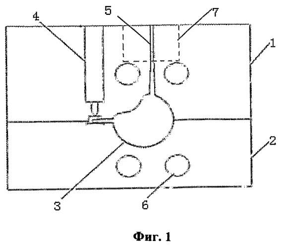Способ изготовления складного искусственного стекловидного тела и литейной формы для него