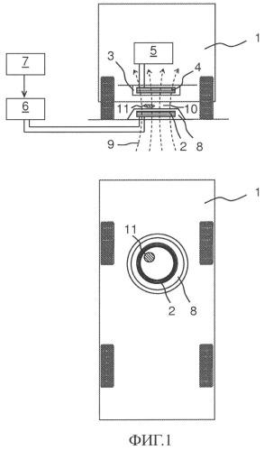 Устройство для индуктивной передачи электроэнергии