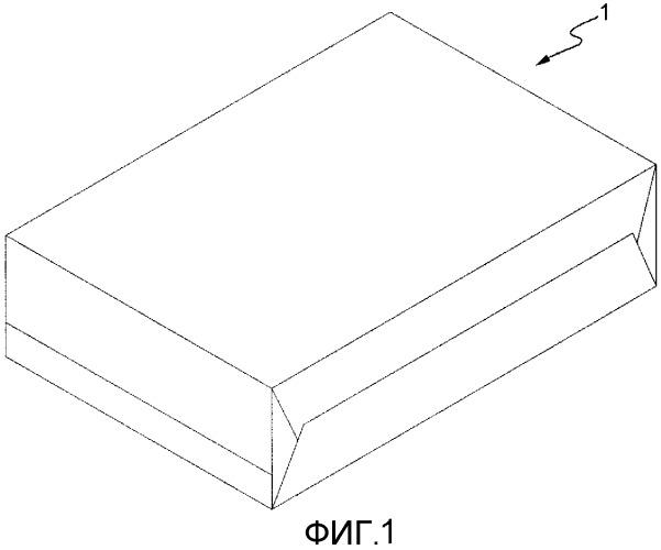 Способ упаковки и узел для сгибания листа упаковочного материала вокруг изделия, такого как группа сигарет
