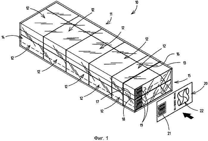 Способ и устройство для изготовления групповых упаковок и групповая упаковка