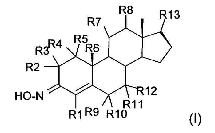 Новые производные оксима холест-4-ен-3-она, фармацевтические композиции, их содержащие, и способ получения