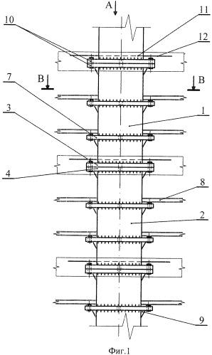 Трубчатая строительная конструкция