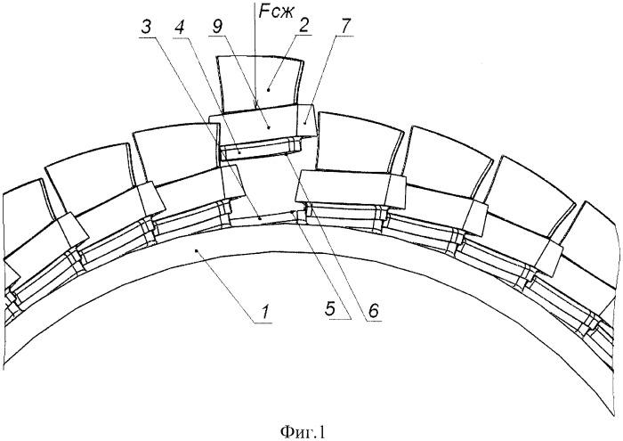 Способ изготовления моноблочного лопаточного диска