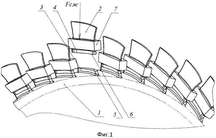 Способ линейной сварки трением лопаток с диском для получения блиска
