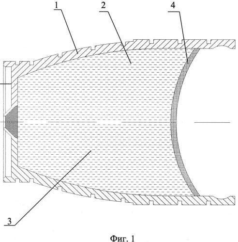 Боевой элемент кассетного осколочного боеприпаса