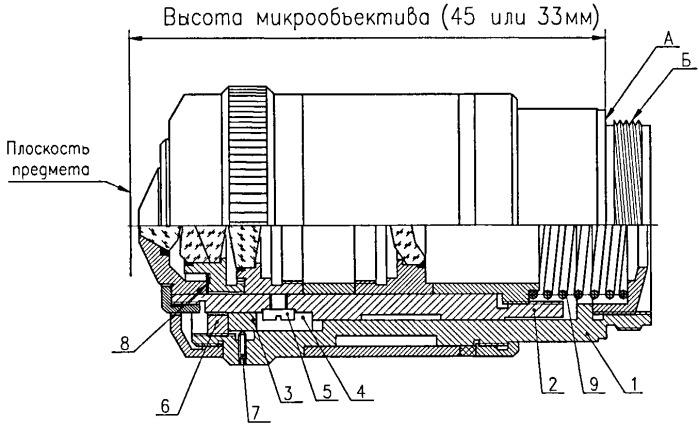 Способ юстировки объектива для микроскопа и объектив для микроскопа