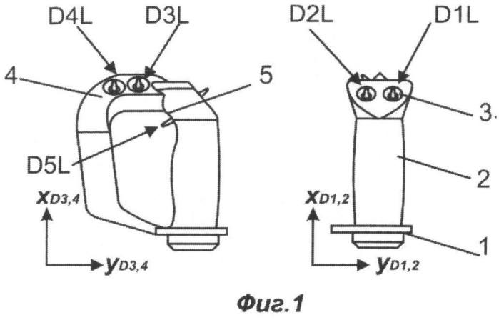 Устройство ввода информации - полиджойстик для гиперманевренного управления