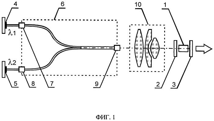 Твердотельный ап-конверсионный лазер