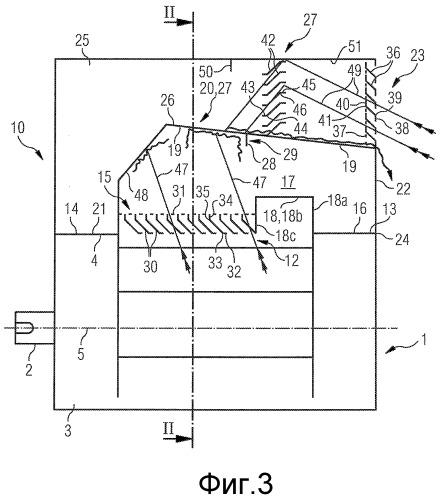 Корпусная насадка для электрической машины со степенью защиты ip 24w