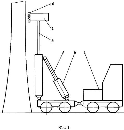 Устройство для стряхивания кедровых шишек с деревьев