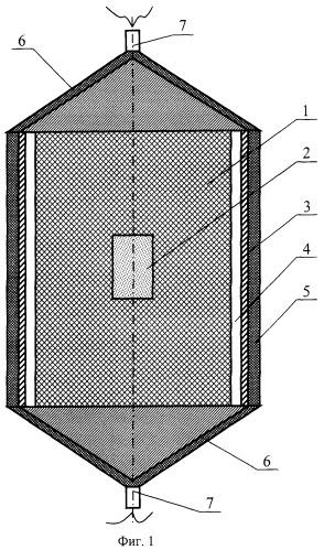 Устройство для взрывного обжатия материалов