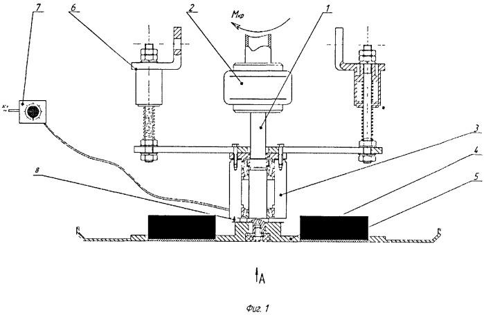Дисковый рабочий орган бетоноотделочной машины с изменяемым градиентом магнитного поля