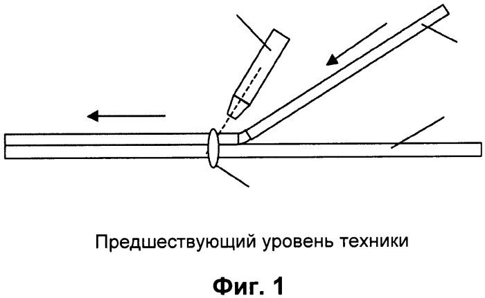 Способ и устройство для изготовления композитной структуры из армированного волокном термопластичного материала