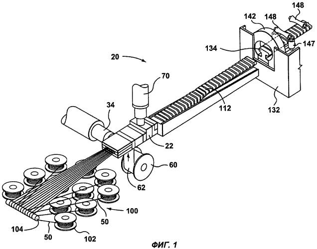 Способ и устройство для экструдирования поручня из термопластмассы