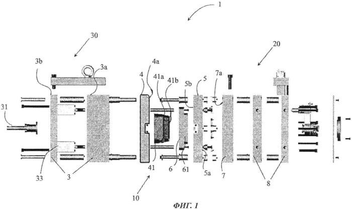 Формовочная система для изготовления контейнера на основе картона