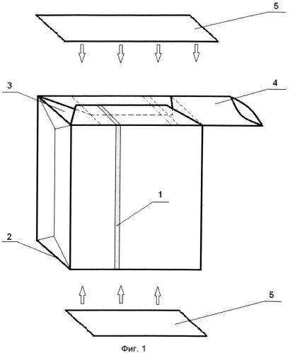 Бумажный мешок для упаковки сыпучих материалов