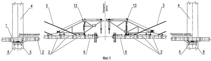 Способ замыкания пролетного строения и выравнивающее устройство для осуществления этого способа