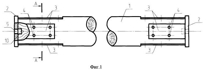 Универсальный строительный элемент для стержневых конструкций