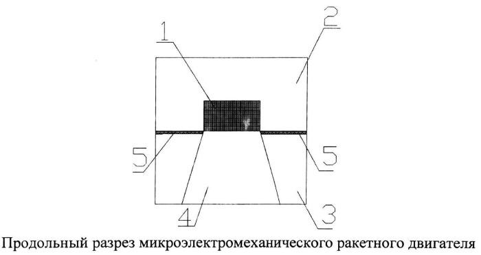 Микроэлектромеханический ракетный двигатель