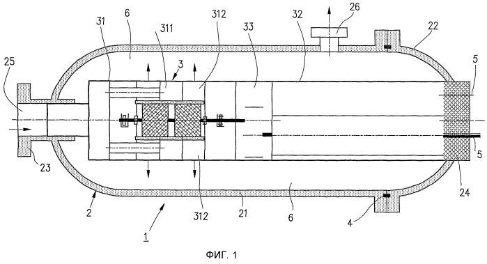 Подводный добычной агрегат