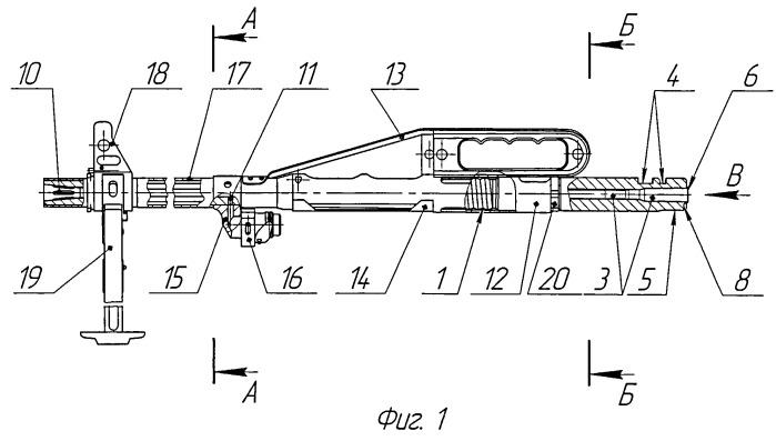 Ствол автоматического стрелкового оружия, изготовленный методом холодного радиального обжатия, и способ его местной закалки
