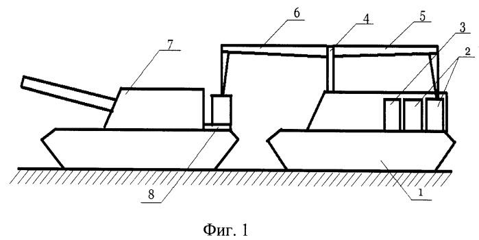 Транспортно-заряжающая машина для самоходного артиллерийского орудия
