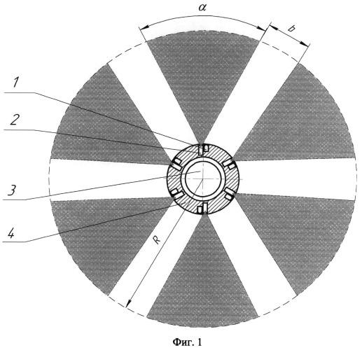Оптический блок неконтактного взрывателя для боеприпасов