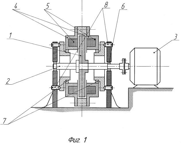 Устройство для измерения момента сопротивления от сил магнитного трения в неконтактных подвесах