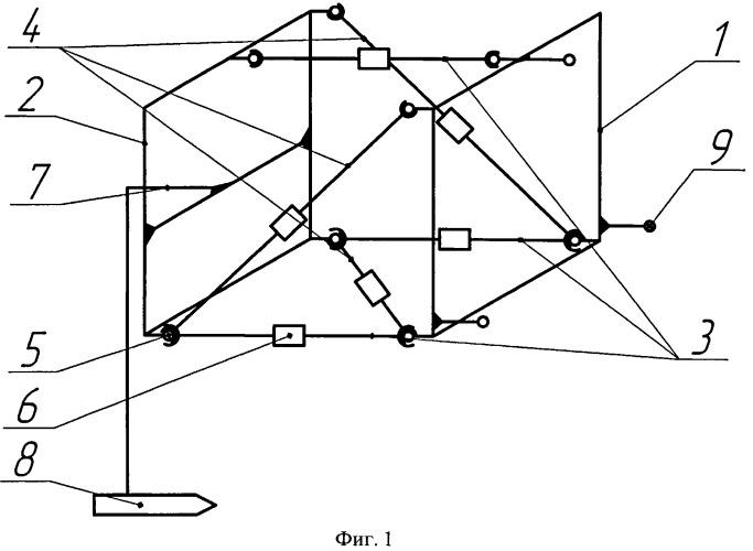 Установка для объемного тензометрирования