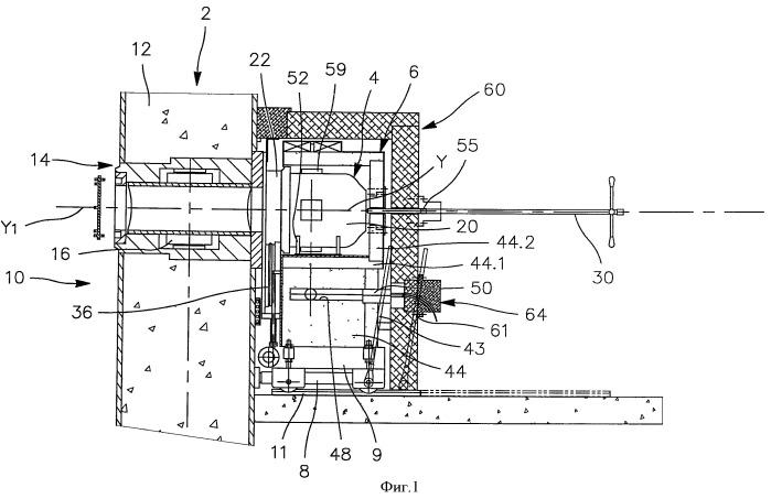 Устройство для измерения физических параметров ядерных материалов и способ использования такого устройства